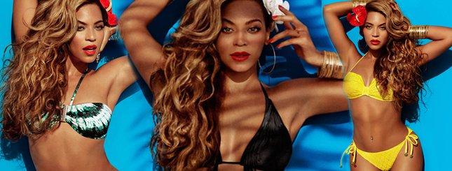 Odchudzona Beyonce w kostiumach kąpielowych (FOTO)