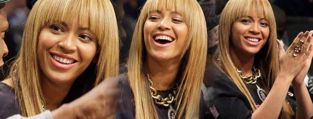 Beyonce – prosto od fryzjera na mecz (FOTO)