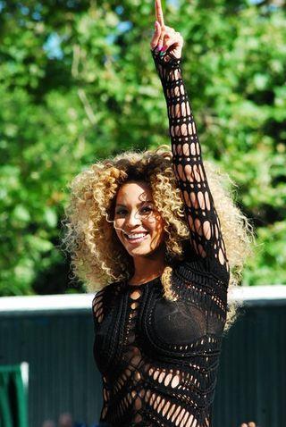 Beyonce nosi naszyjnik z imieniem córeczki (FOTO)