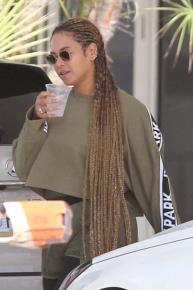 Jaka stylówka! 6-letnia córka Beyonce na meczu z mamą (Instagram)