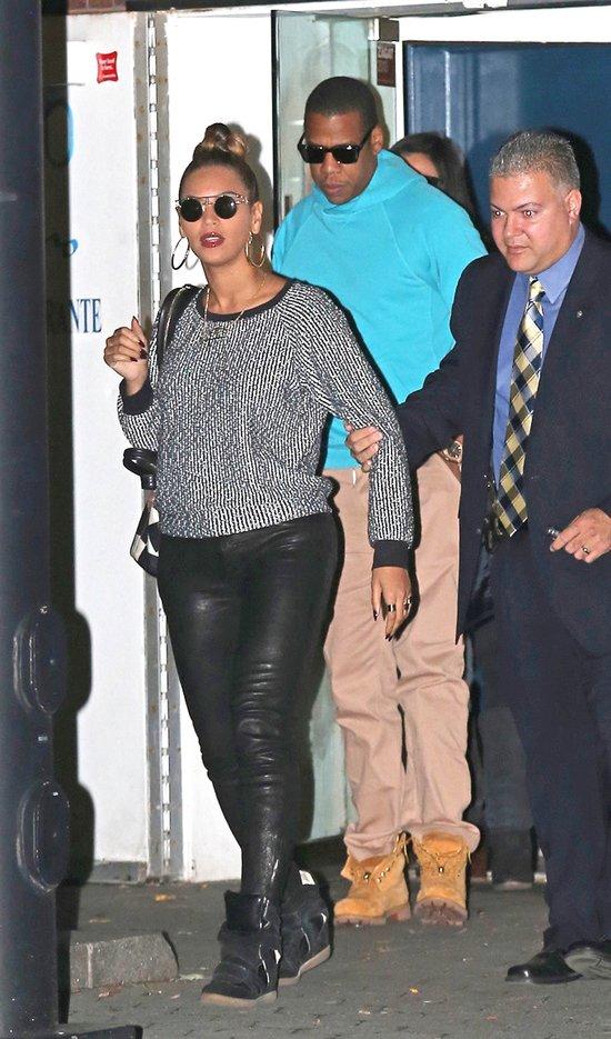 Beyonce z mężem na romantycznej kolacji (FOTO)