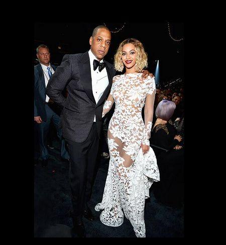 Beyonce odchudzała się przed występem na rozdaniu Grammy? - suknia z grammy 2014