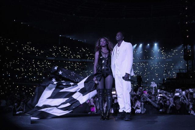 Bey Z rozprawiają o swoim małżeństwie na scenie