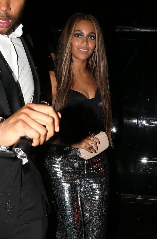 Niewiele brakowa�o, by Beyonce stan�a oko w oko z kochank� m�a!