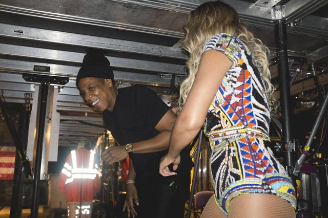 Co Beyonce i Jay Z robią za kulisami? (FOTO)