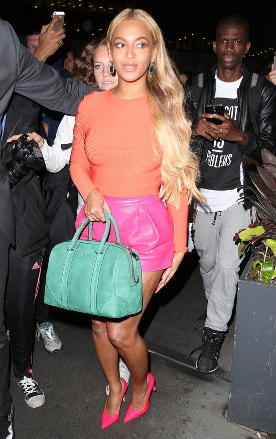 Na tym zdj�ciu c�rka Beyonce wygl�da okropnie! (Instagram)
