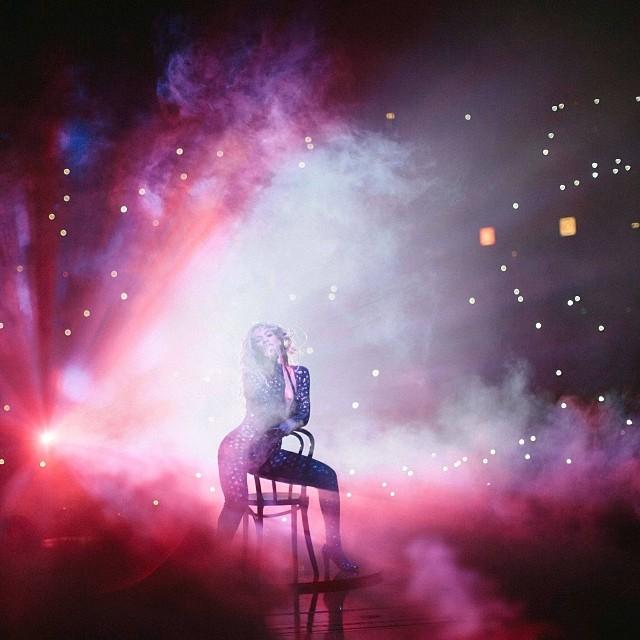 Przebieranki Beyonce na koncertach w Wielkiej Brytanii FOTO