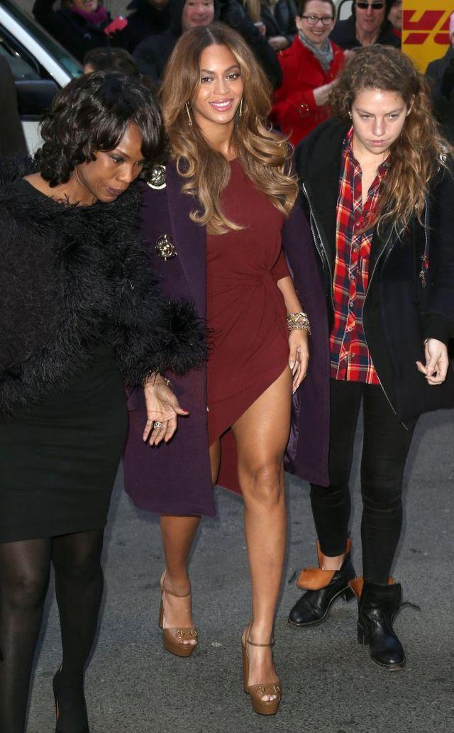 Beyonce nie umie być elegancka? (FOTO)