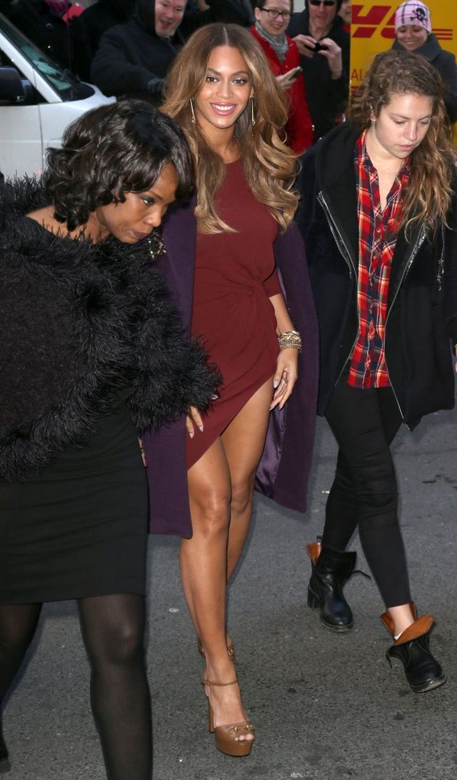 Beyonce nie umie by� elegancka? (FOTO)