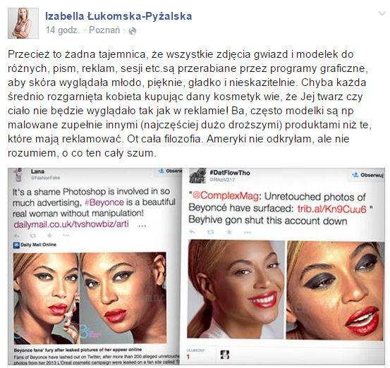 Łukomska-Pyżalska ostro skomentowała aferę z Beyonce