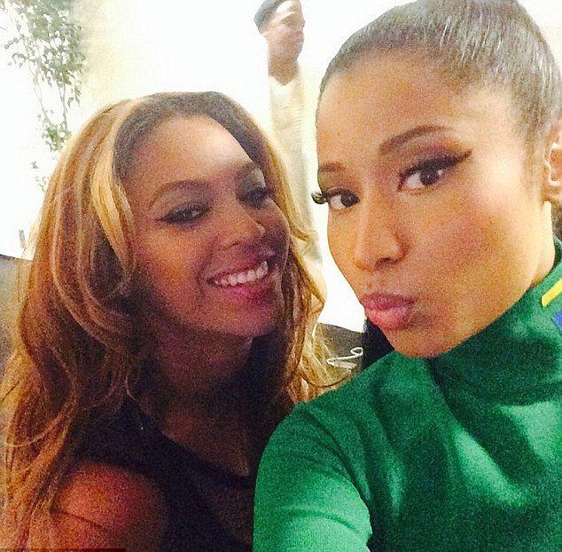 Beyonce i Nicki Minaj - nowe przyjaciółki (FOTO+VIDEO)