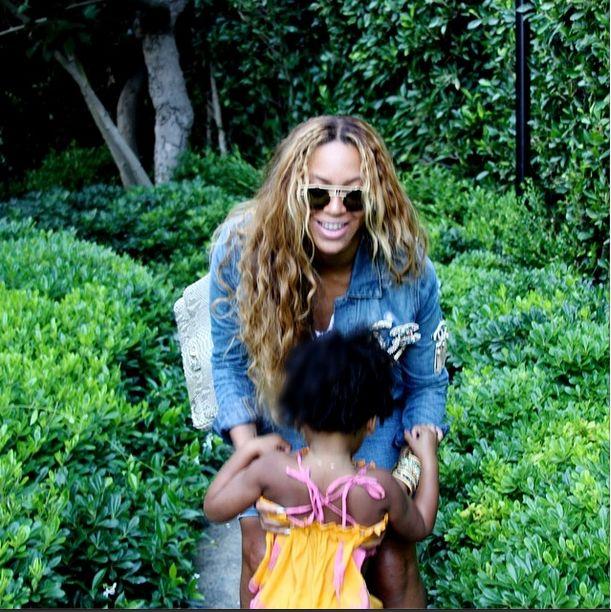Karrueche Tran wyśmiała małą Blue Ivy (VIDEO)