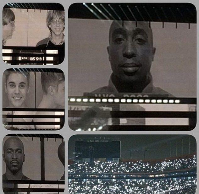 Skandal z Justinem Bieberem na koncercie Beyonce (VIDEO)