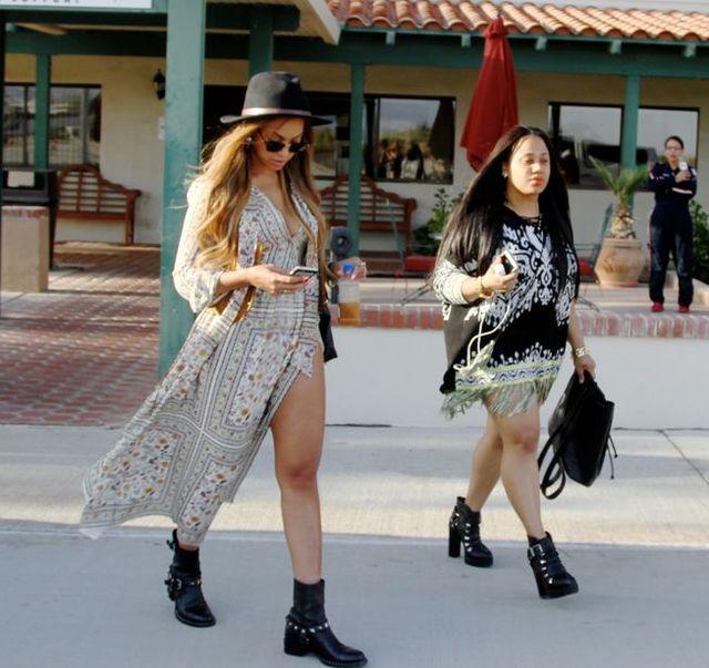 Beyonce też poczuła klimat Coachelli (FOTO)