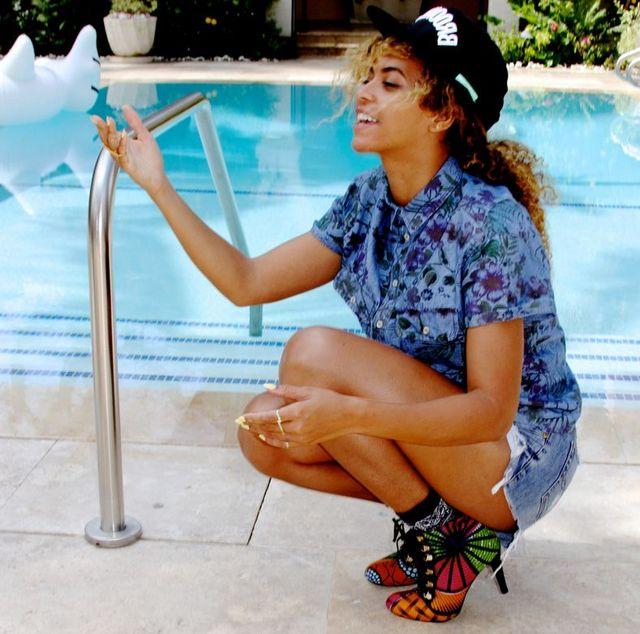 Beyonce jednak wstydzi się swojego defektu? (FOTO)