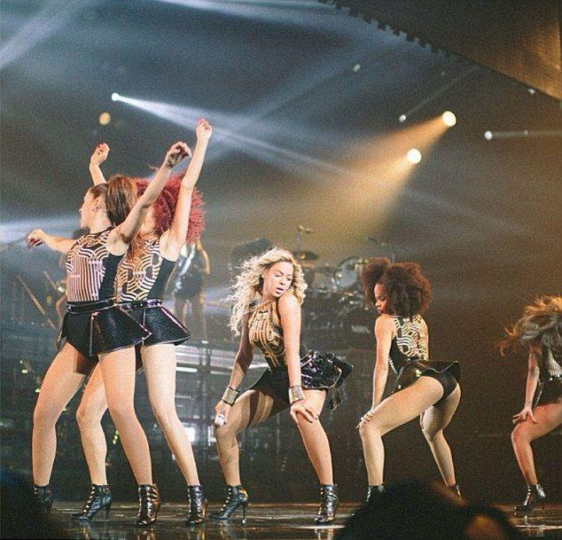 Beyonce też twerka na swoich koncertach (FOTO+VIDEO)