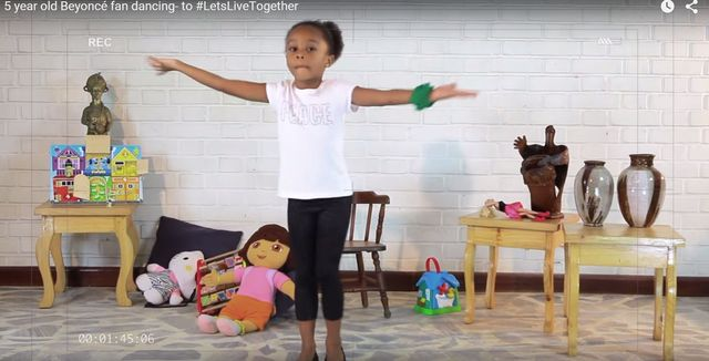 Beyonce jest zachwycona t� 5-latk� (VIDEO)