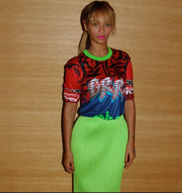 Królowa Beyonce pokazała się bez makijażu! (FOTO)