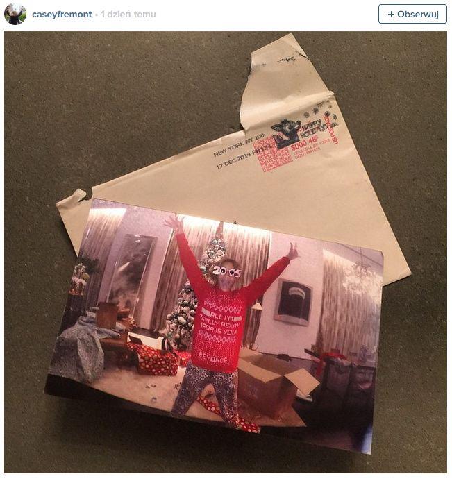 Zamieszanie wokół świątecznej kartki Beyonce (FOTO)