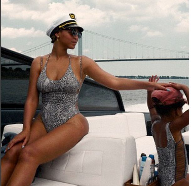 Beyonce też chwali się fotkami z urlopu (Instagram)