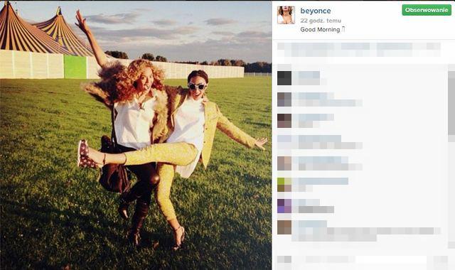 Beyonce dementuje plotki powsta�e wok� b�jki? (FOTO)