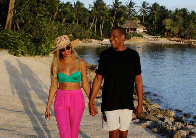 Rajskie wakacje w wydaniu Beyonce (FOTO+VIDEO)