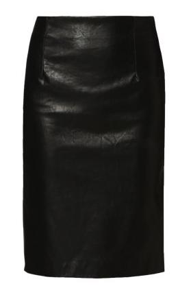 Skórzana spódnica w stylu gwiazd!