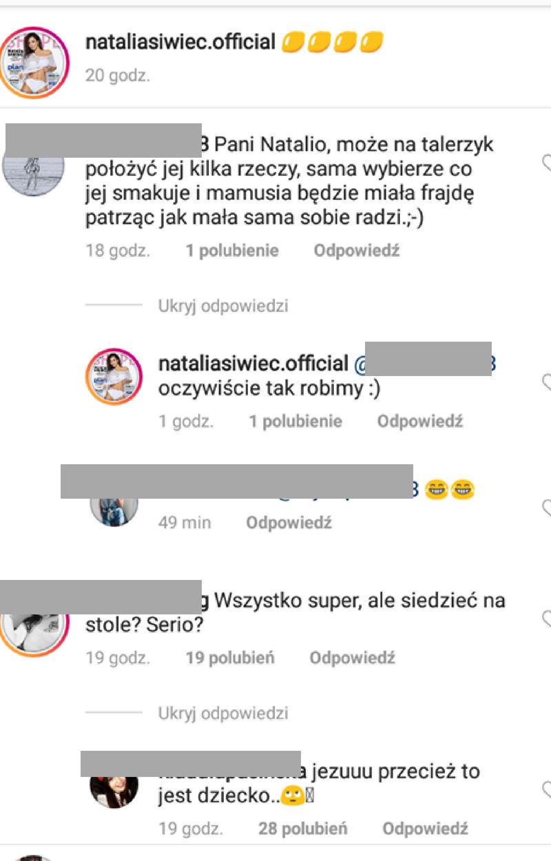 Natalia Siwiec w ogniu krytyki.