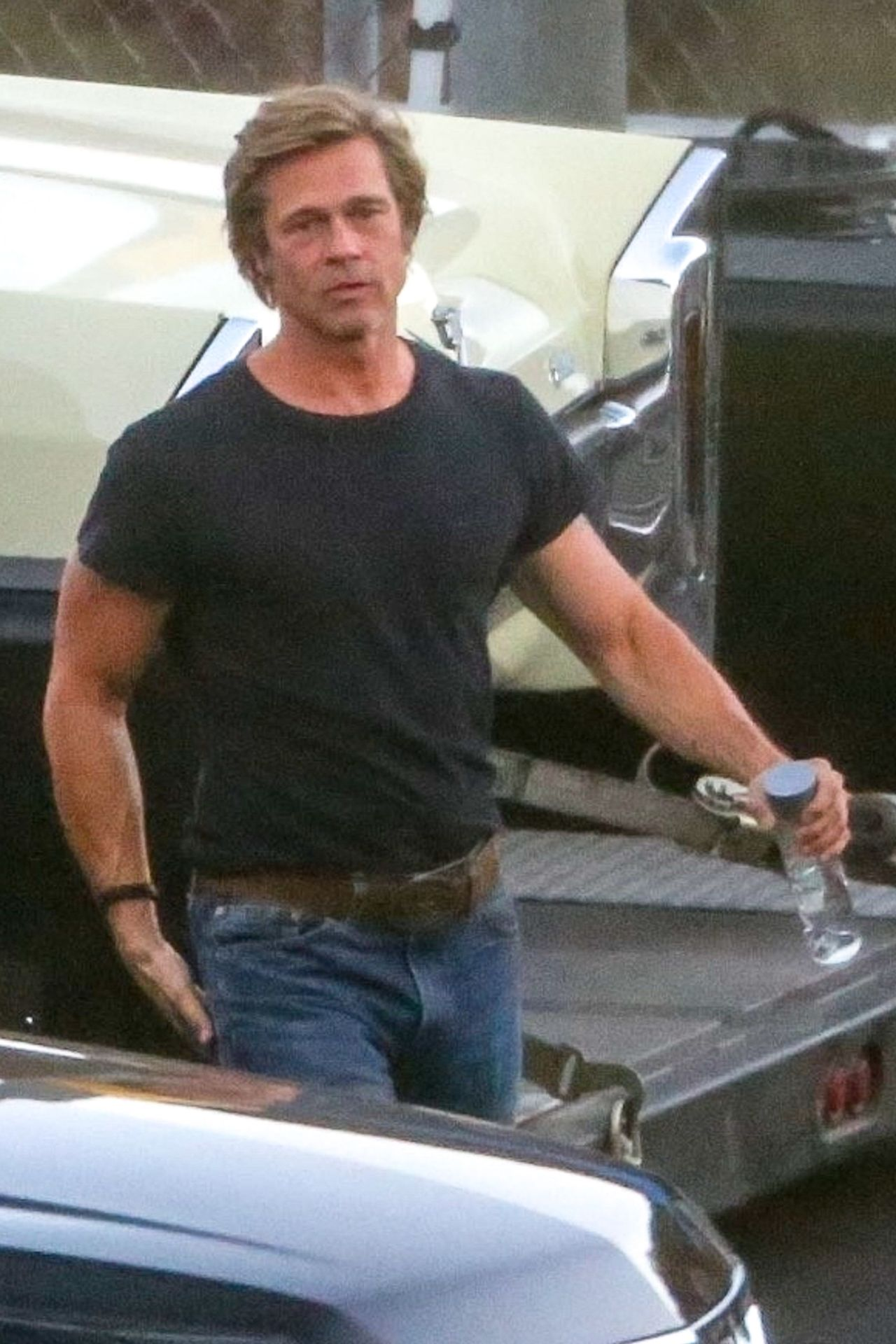 Pitt i DiCaprio na planie nowego filmu Quentina Tarantino (ZDJĘCIA)