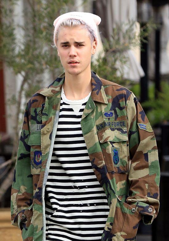 DeGeneres zapyta�a Kourtney o relacj� z Bieberem