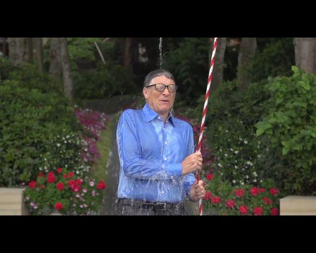 Splash Billa Gates'a nie mógł być BANALNY [VIDEO]