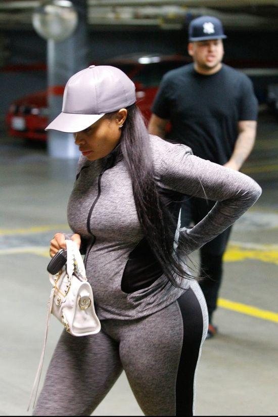 Ile od momentu zajścia w ciążę przytyła Blac Chyna?