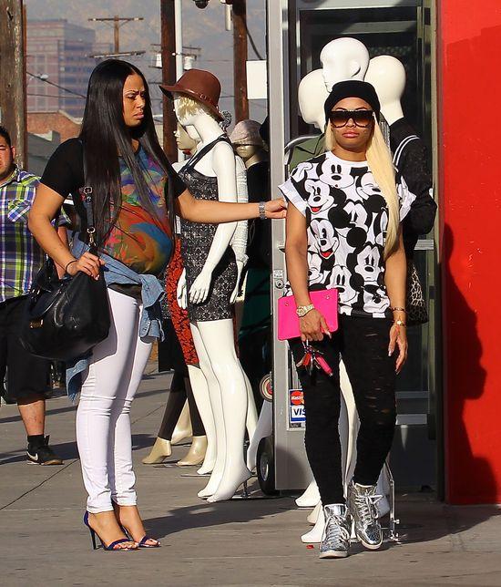Blac Chyna, koleżanka Kim Kardashian już robi ustawki