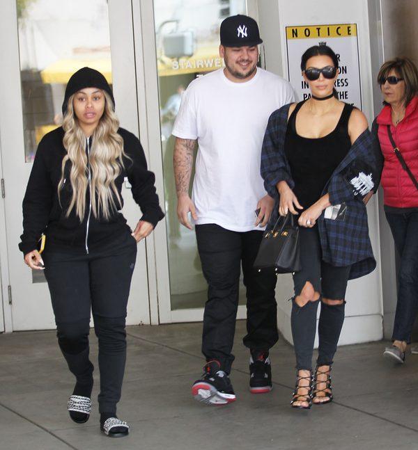 Blac Chyna i Robert Kardashian chcą Wam coś powiedzieć