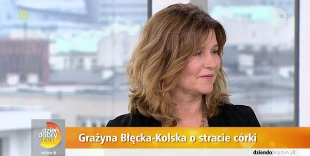 Gra�yna B��cka-Kolska: Trudno m�wi� o dziecku, kt�rego nie ma
