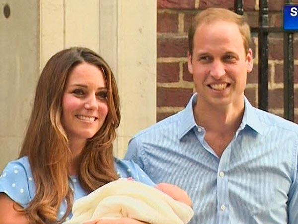 Księżna Kate i książę William pokazali syna! (FOTO)