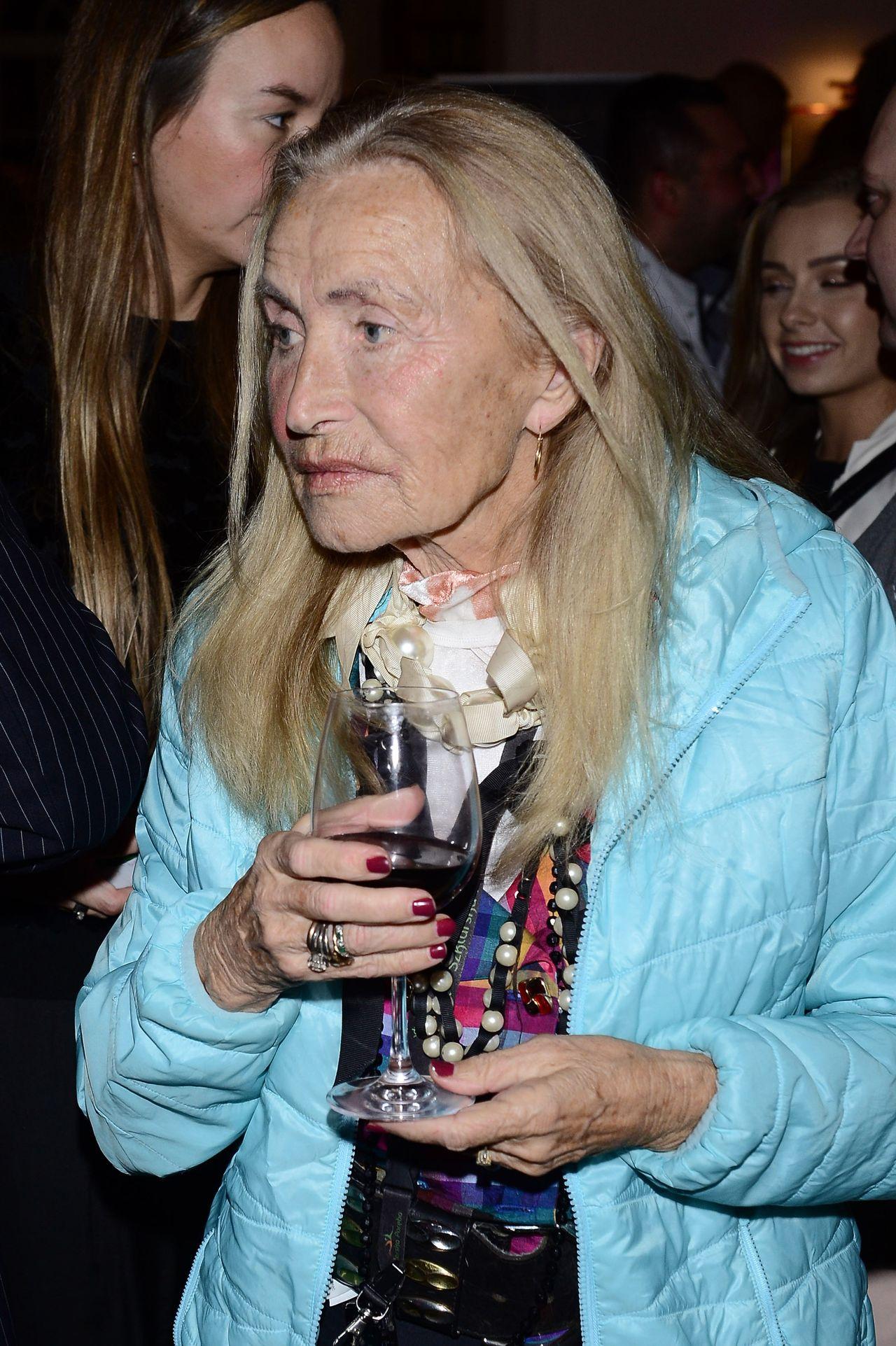 Bogumiła Wander, dawna gwiazda TVP, wróciła na salony (ZDJĘCIA)