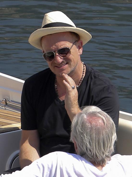 Bono na charytatywnej imprezie Natalii Vodianovej (FOTO)