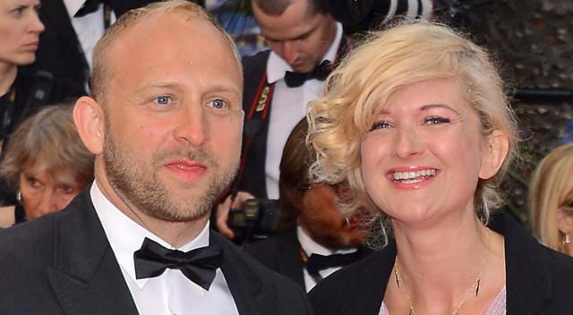 Borys Szyc z partnerką na czerwonym dywanie w Cannes (ZDJĘCIA)