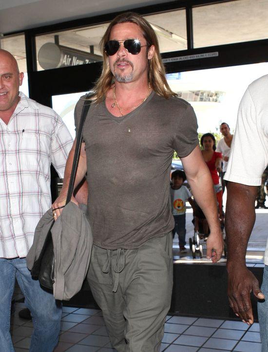 Brad Pitt śmierdzi jak owczarek pasterki (FOTO)