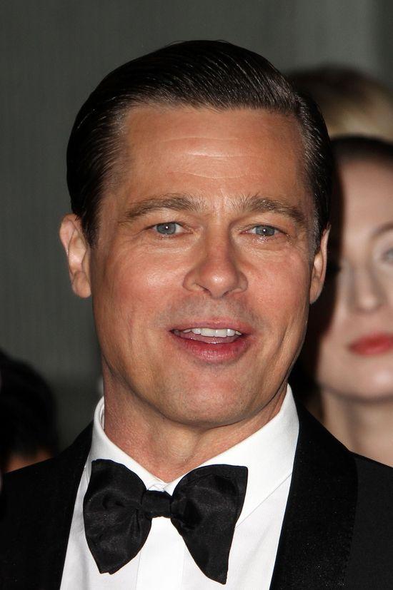 Zagadka nowej twarzy Brada Pitta rozwiązana!