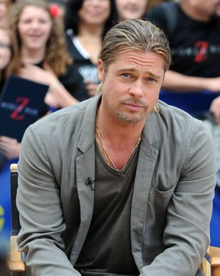 Brad Pitt w Good Morning America (FOTO)