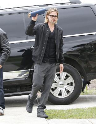 Brad Pitt nosi bieliznę wyszczuplającą?