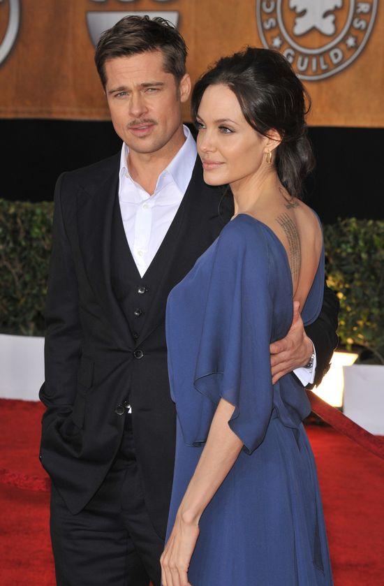 Brad Pitt chce rozwieźć się z Angeliną tak, jak z Jennifer Aniston