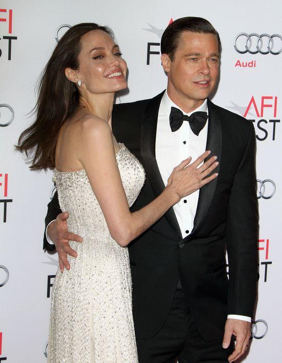 Brad Pitt nie przestaje p�ata� po premierze By The Sea