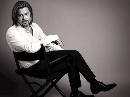 Brad Pitt reklamuje perfumy Chanel no. 5 (FOTO)