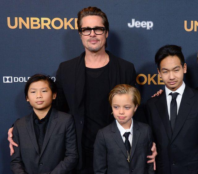 Brad Pitt może częściej widywać się z dziećmi. Teraz mówi im TO o Angelinie