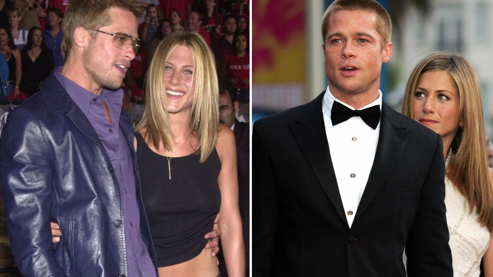 Prawdziwy POWÓD, dla którego Brad Pitt był na 50. urodzinach Jennifer Aniston