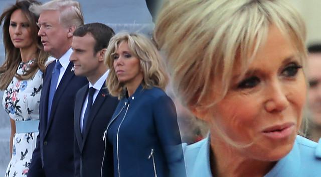 Brigitte Macron chciałaby być jak Melania Trump, ale jest POWAŻNY problem