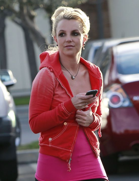 Britney Spears chudnie (FOTO)